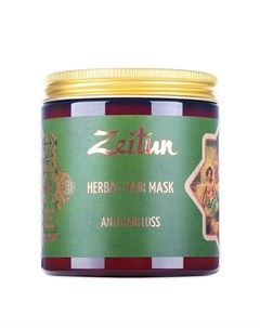 Маска для волос Herbal Hair Mask Anti Hair Loss Zeitun
