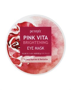 Патчи для глаз Pink Vita Brightening Eye Mask Petitfee