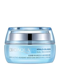 Крем для лица Hyalo Oligo Dual Recovery New Active Abundant Water Skin Smoothing Cream Bioaqua