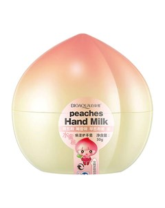 Крем для рук Plant Extract Peach Moisturizing Hand Cream Bioaqua