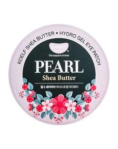 Патчи для глаз Pearl Shea Butter Hydrogel Eye Patch Koelf