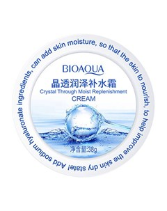 Крем для лица Crystal Through Moist Replenishment Cream Bioaqua