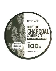 Гель с древесным углём Moisture Charcoal 100 Soothing Gel Lebelage