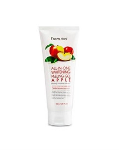 Пилинг скатка для лица All In One Whitening Peeling Gel Cream Apple Farmstay