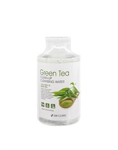 Очищающая вода Green Tea Clean Up Cleansing Water 3w clinic