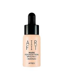 Тональная основа A Pieu Air Fit Nude Foundation Moisture A'pieu
