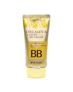 ВВ крем Collagen Luxury Gold BB Cream 3w clinic