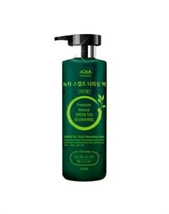 Маска для волос Green Tea Scalp Nourishing Pack Aomi