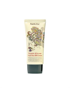 ВВ крем All In One Snail Sun BB Cream Farmstay