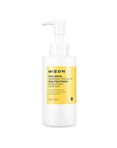 Пилинг для лица Vita Lemon Sparkling Peeling Gel Mizon