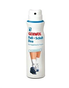 fub schuh deo дезодорант для ног и обуви 150 мл Gehwol