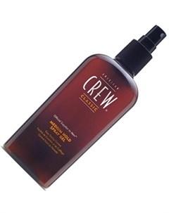 American crew спрей гель для волос средней фиксации classic medium hold spray gel 250 мл