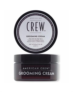 American crew крем с сильной фиксацией и высоким уровнем блеска для волос и усов grooming cream 85