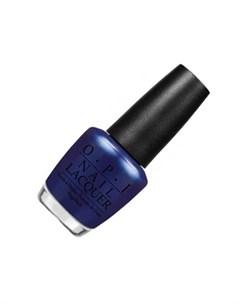 Opi лак для ногтей blue my mind nlb24 15мл