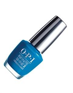 Opi infinite shine лак для ногтей wild blue yonder 15 мл