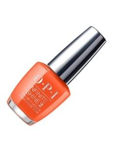 Opi infinite shine лак для ногтей santa monica beach peach 15 мл
