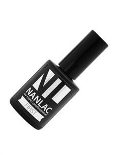 гель лак базовый nanlac first 15 мл для укрепления ремонта и выравнивания ногтевой пластины Nano professional