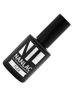 гель лак защитный nanlac flex без липкого слоя подходит для страз 15 мл Nano professional