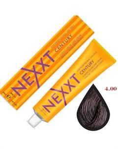 крем краска 4 00 темно коричневый 100мл Nexxt