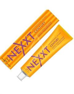 крем краска 10 7 светлый блондин коричневый 100мл Nexxt