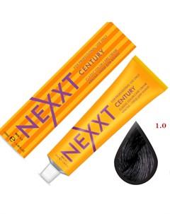 крем краска 1 0 черный 100мл Nexxt