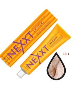 крем краска 10 1 светлый блондин пепельный 100мл Nexxt