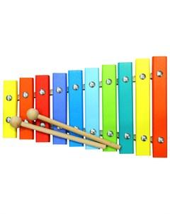 Ксилофон большой с палочками Alatoys