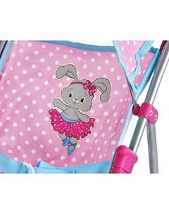 Прогулочная коляска Зайка для куклы Mary poppins