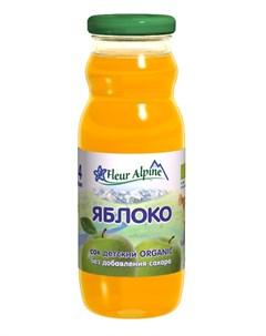 Сок Organic яблоко 200мл Fleur alpine