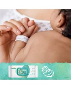 Детские влажные салфетки Aqua Pure 96шт Pampers