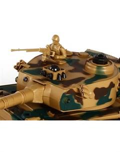 Танк 1 24 TIGER Пламенный мотор