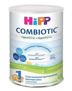 Сухая адаптированная молочная смесь Hipp Combiotic 1 800гр