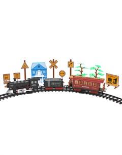 Железная дорога со световыми и звуковыми эффектами Джамбо тойз