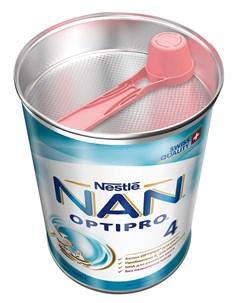 4 Optipro Детское молочко для детей с 18 месяцев 400гр Nan