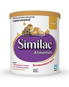 Сухая смесь Alimentum для детей с аллергией 400гр Similac