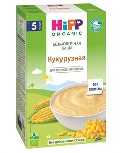 Каша Hipp кукурузная безмолочная 200гр