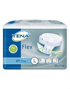 Подгузники поясные TENA Flex Plus L 30шт Tena