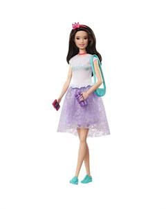 Приключения Принцессы Кукла Брюнетка Barbie