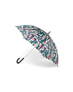 Зонт HERSCHEL Single Stage Umbrella Abstract Block Mineral Red Herschel