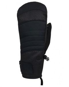 Варежки для сноуборда женские Wms Infiloft Majesty Mitt Black Croc 686