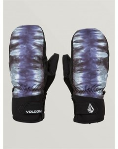 Варежки для сноуборда мужские Nyle Mitt Black Print Volcom