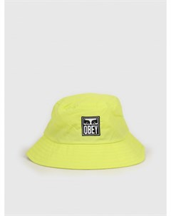 Панама Icon Eyes Bucket Hat Key Lime 2020 Obey