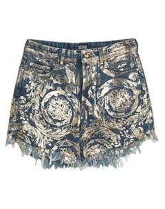 Джинсовые бермуды Versace jeans couture