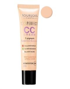 Тональный Крем Для Лица 123 Perfect Cc Cream 30 Мл 31 Ivory Bourjois