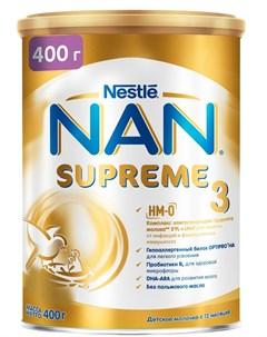 3 Supreme Сухая молочная смесь с олигосахаридами для защиты от инфекций 400гр Nan