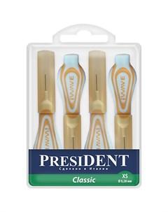 Президент Межзубные ершики Классик 0 28мм р XS N4 President