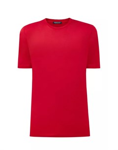 Хлопковая футболка с V образным вырезом Bertolo cashmere