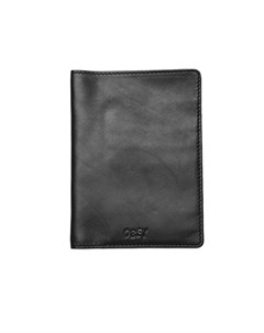 Визитница Vandal Jumble Passport Wallet Black 2020 Obey