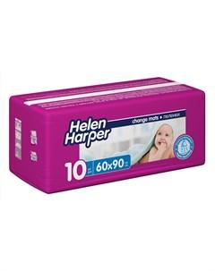 Впитывающие пеленки Baby 60x90 10шт Helen harper