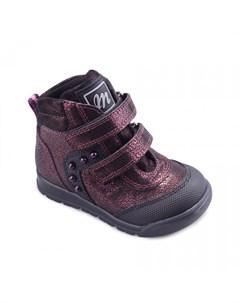 Ботинки для девочки 4610 42 8В_01 Minimen